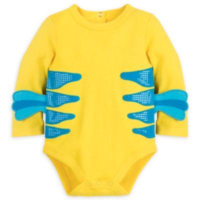 Pelele-vestido de Flounder para bebé