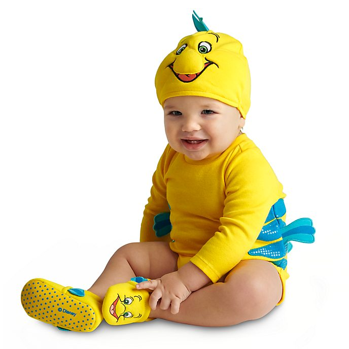 Flounder Baby Costume Body Suit