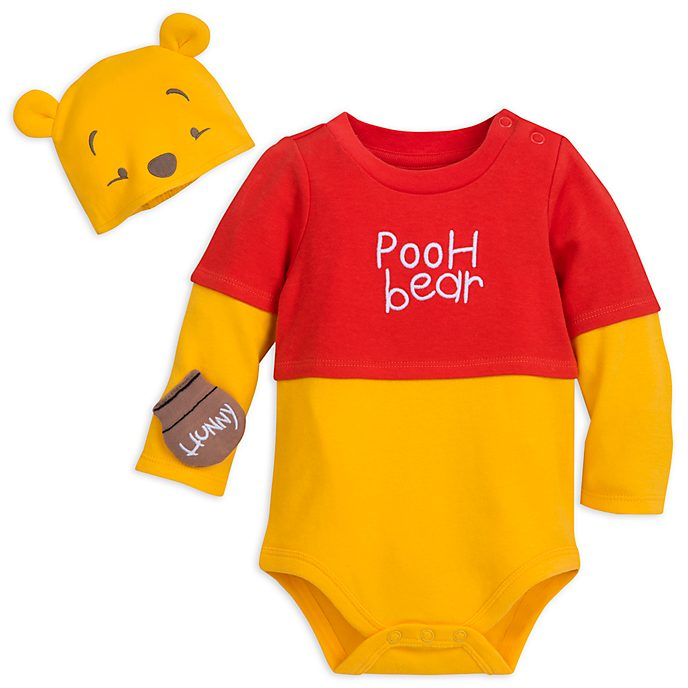 451ee65cdd01 Disney Store Winnie the Pooh Baby Costume Body Suit