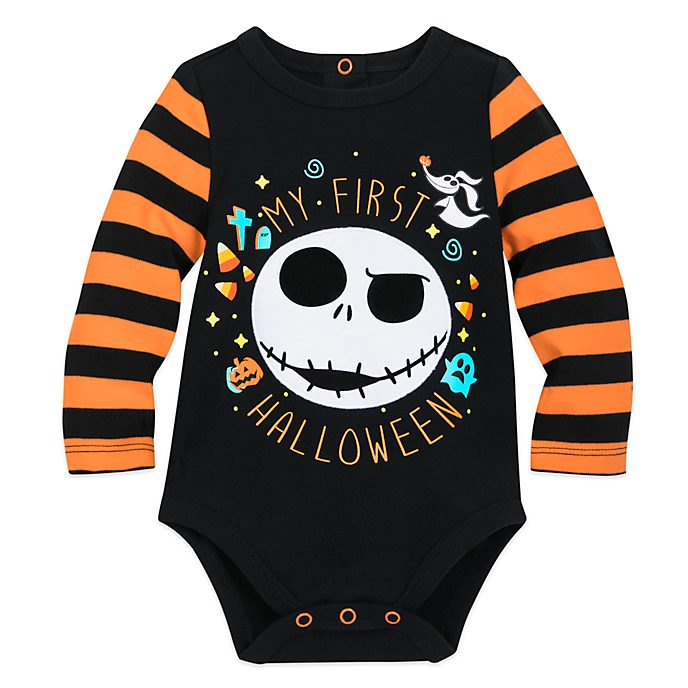 Disney Store Jack Skellington Halloween Baby Body Suit