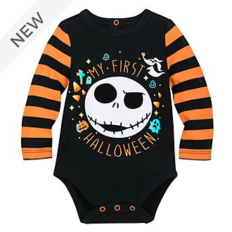 Disney Store Jack Skellington Halloween Baby Body Suit