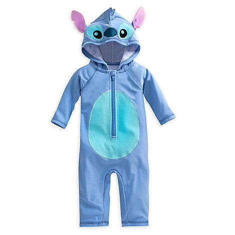 Traje de playa tipo disfraz de Stitch para bebé