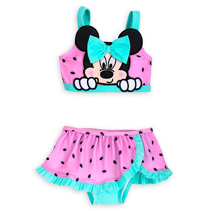 Disney Store Minnie Mouse Baby 2 Piece Swimsuit