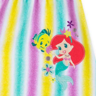 Poncho toalla bebé, La Sirenita