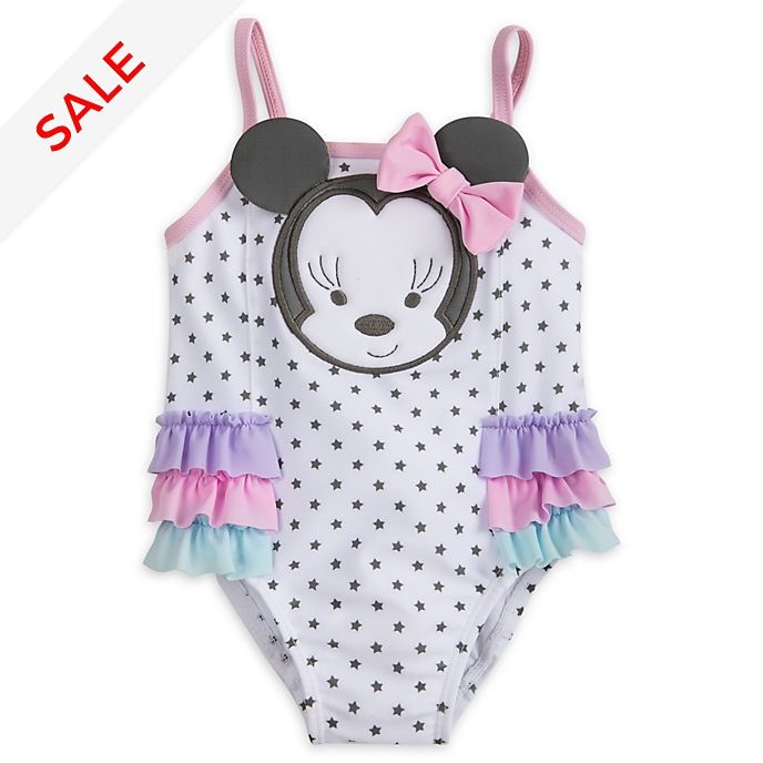 ef463e70a67 Minnie Mouse Baby Swimming Costume