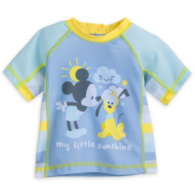 Mickey Mouse Baby Rash Guard