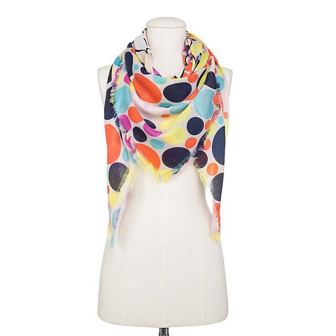 Codello - Minnie Maus - Schal mit hellen Punkten