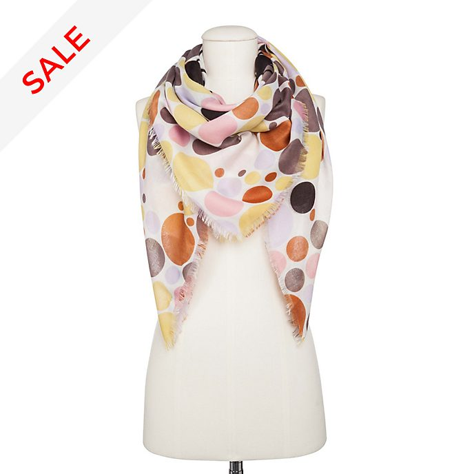 Codello Minnie Mouse Beige Dots Scarf