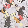 Codello Foulard Mickey et MinnieMouse gris