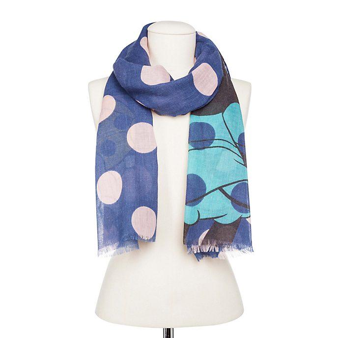Codello - Minnie Maus - Schal mit Punkten, blau