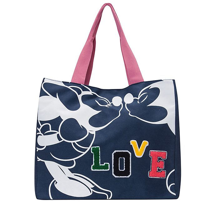 Codello Mickey and Minnie Mouse Love Tote Bag