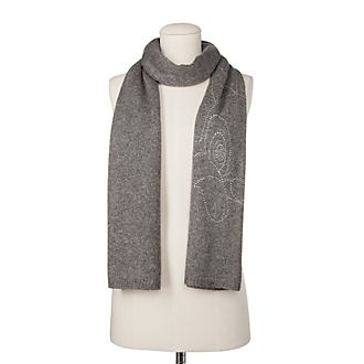 Codello Thumper Knitted Grey Scarf