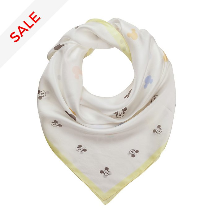 Codello Mickey Mouse Off-White Scarf