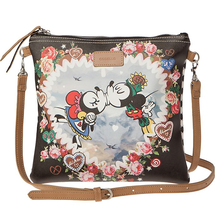 Codello Mickey and Minnie Oktoberfest Crossbody Bag