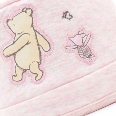 Chapeau réversible Winnie l'Ourson pour bébé