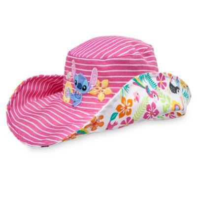 Sombrero de playa reversible de Stitch