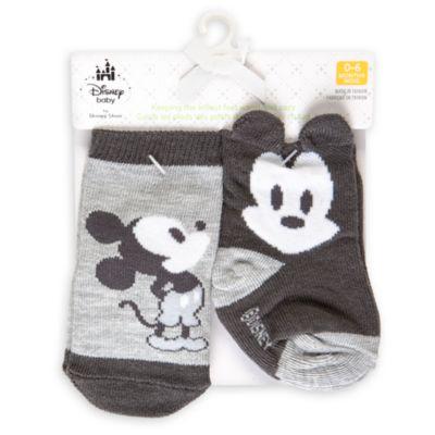 Lot de chaussettes Mickey Mouse pour bébé