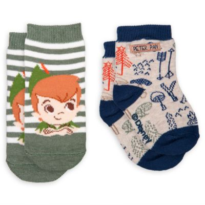 Peter Pan Baby Socks, Pack of 2