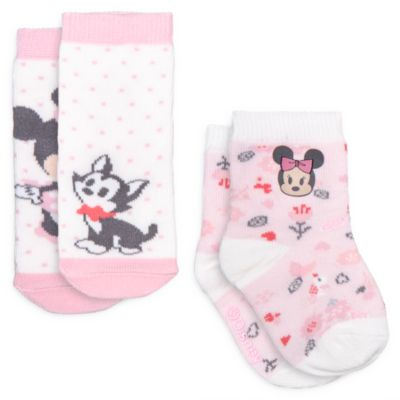 Minnie Maus - Babysocken, 2er-Pack