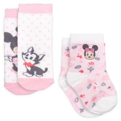Minni, 2 paia di calzini baby