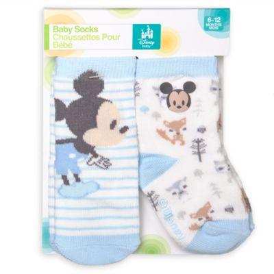 Micky Maus - Babysocken, 2er-Pack