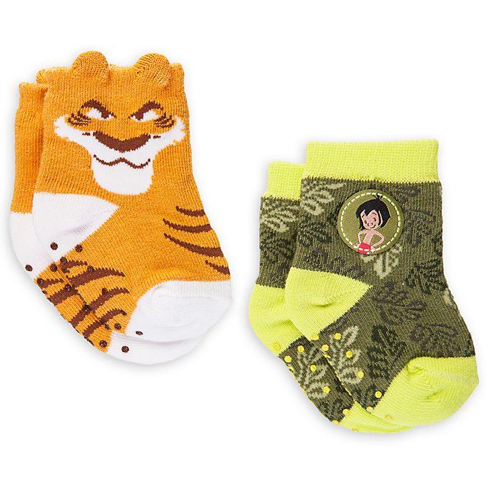 The Jungle Book Baby Socks, 2 Pairs