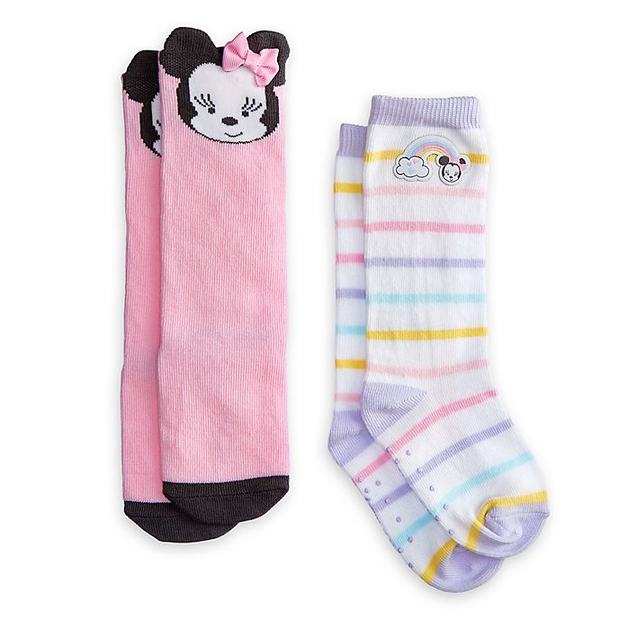 Minnie Mouse Baby Socks, 2 Pairs