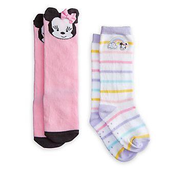 Minnie Maus - Babysocken, 2er-Pack