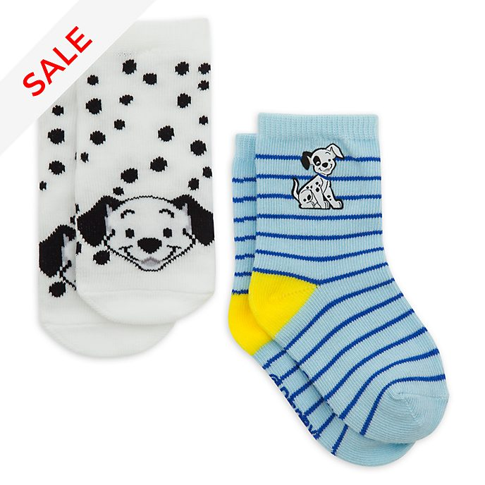 Disney Store - 101 Dalmatiner - Babysocken in Blau, 2er Set