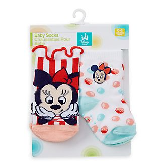 Disney Store Minnie Mouse Baby Socks, Set of 2