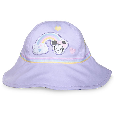 Sombrero de playa Minnie Mouse para bebé