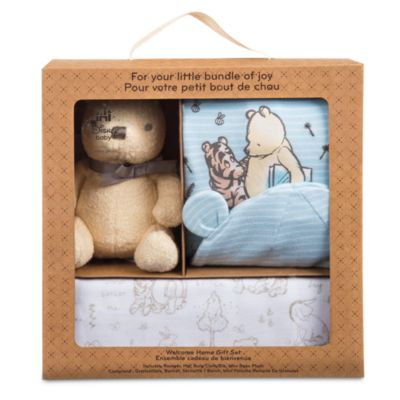 Winnie The Pooh Welcome Home Baby Gift Set