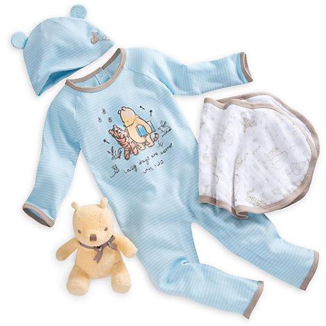 Ensemble cadeau pour bébé Bienvenue à la maison Winnie l'Ourson