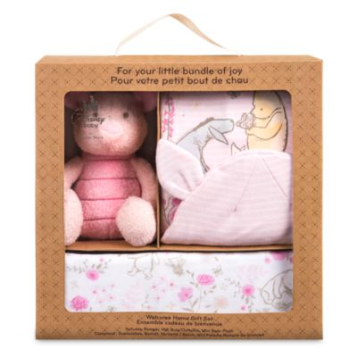 Piglet Welcome Home Baby Gift Set, Winnie the Pooh