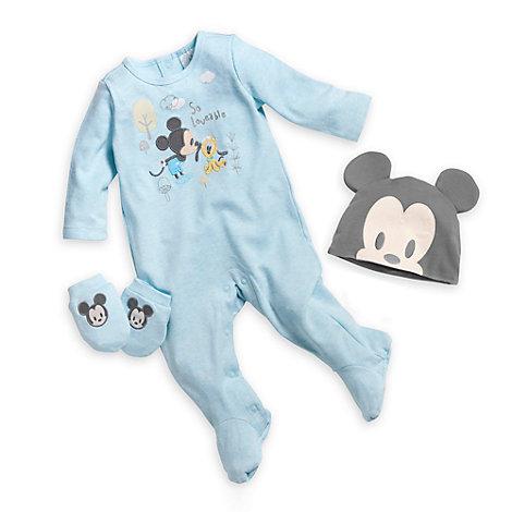 Set idea regalo di benvenuto neonato Topolino