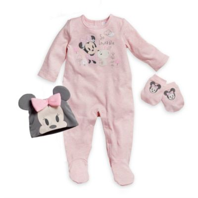 Minnie Mouse Welcome Home Baby Gift Set
