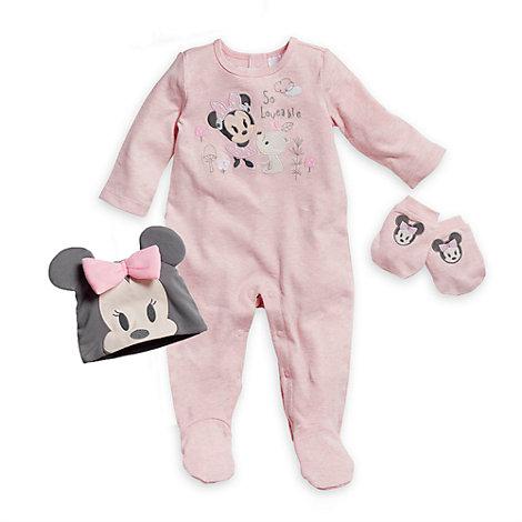 Minnie Maus - Willkommens-Baby-Geschenkset