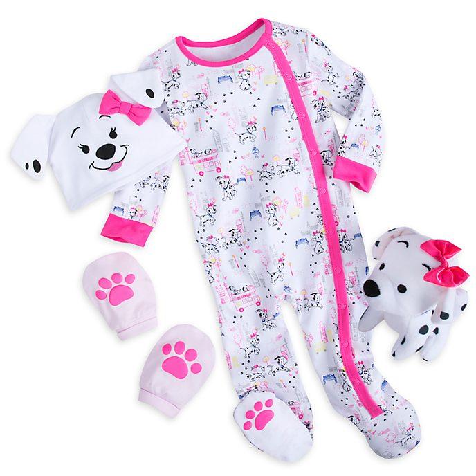 Disney Store 101 Dalmatians Pink Baby Gift Set