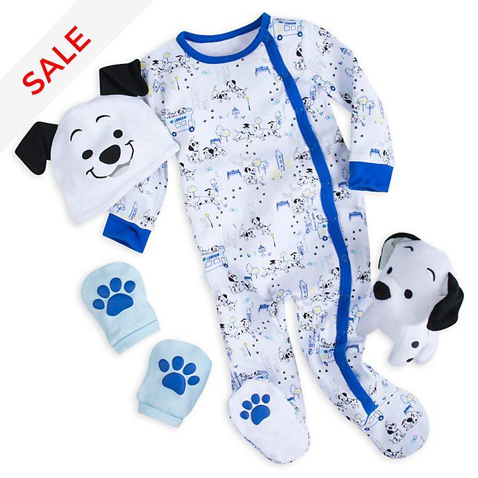 Disney Store 101 Dalmatians Blue Baby Gift Set
