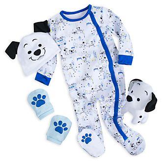 Disney Store Coffret cadeau bleu Les 101Dalmatiens pour bébés