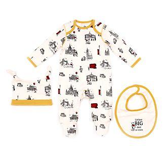 Disney Store Coffret cadeau Winnie l'Ourson pour bébé, Jean Christophe et Winnie