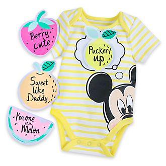 Disney Store Body personnalisable Mickey Mouse pour bébé