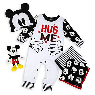 Disney Store Mickey Mouse Baby Gift Set