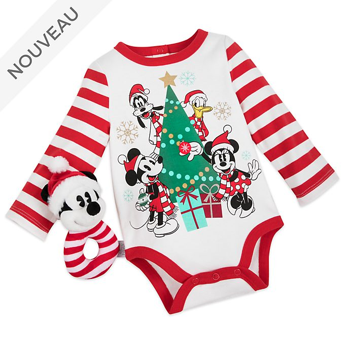 Disney Store Body Mickey et ses Amis pour bébés, Holiday Cheer