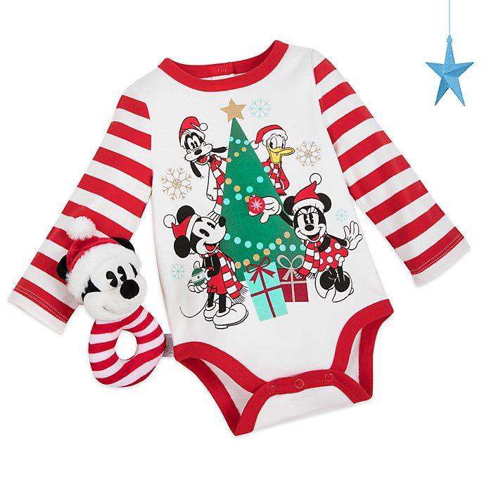 Disney Store Body Mickey et ses Amis pour bébés, Holiday Cheer