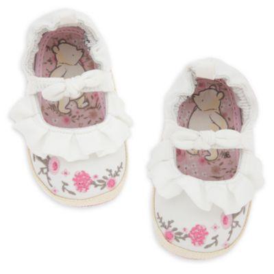 Chaussures pour bébé blanches Winnie l'Ourson