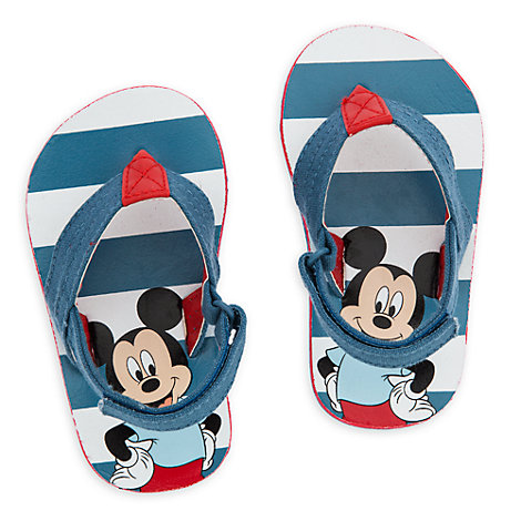 Mickey Mouse Baby Flip Flops