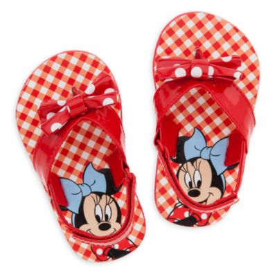 Minnie Mouse Baby Flip Flops