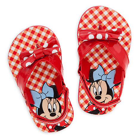 Chanclas Minnie Mouse para bebé