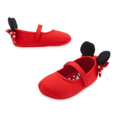 Zapatos de disfraz de Minnie para bebé